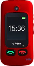 Sigma mobile Comfort 50 Shell DS Black Red